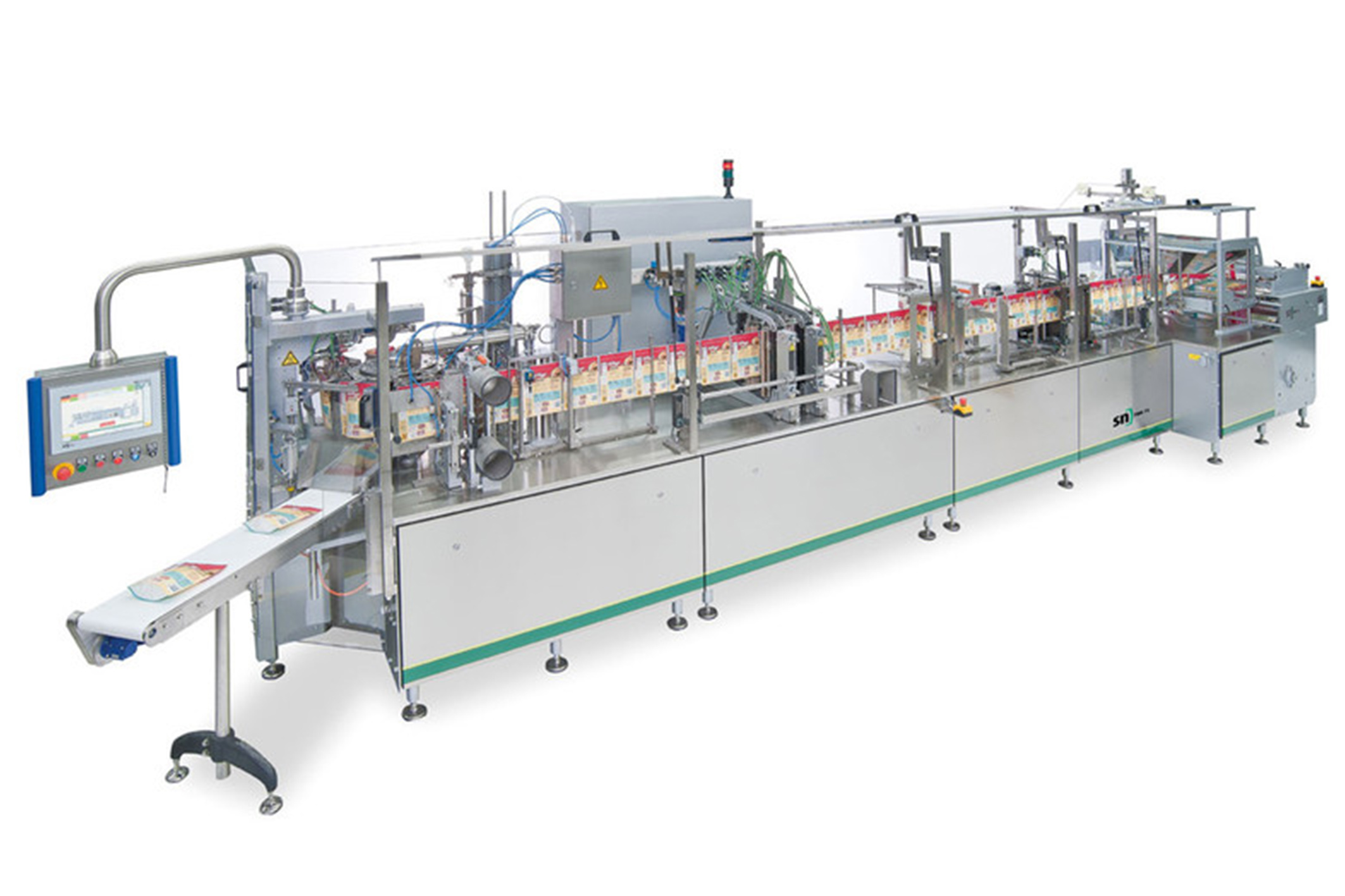 image of sn pouch machine