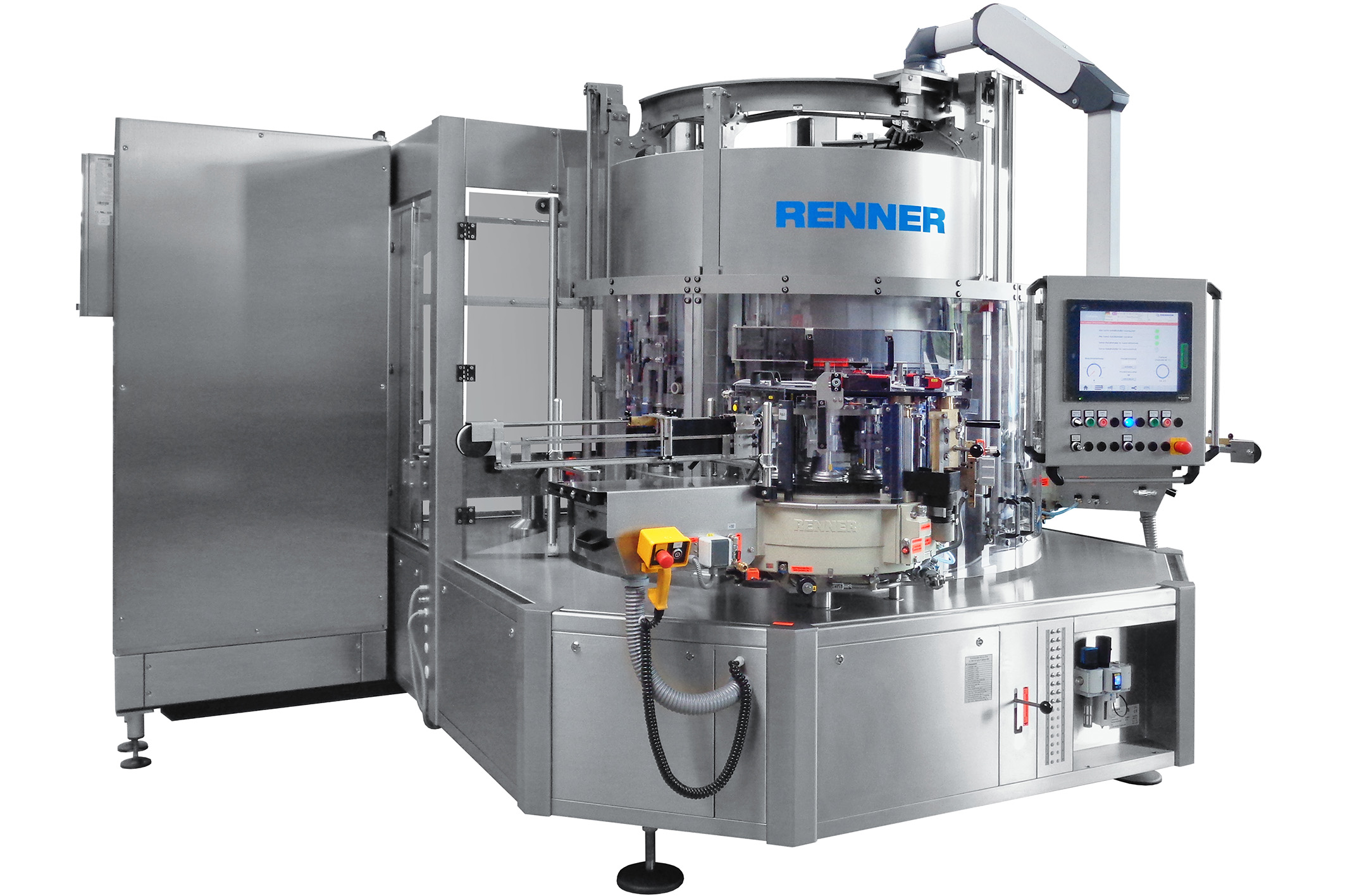 image of renner wet glue labeller