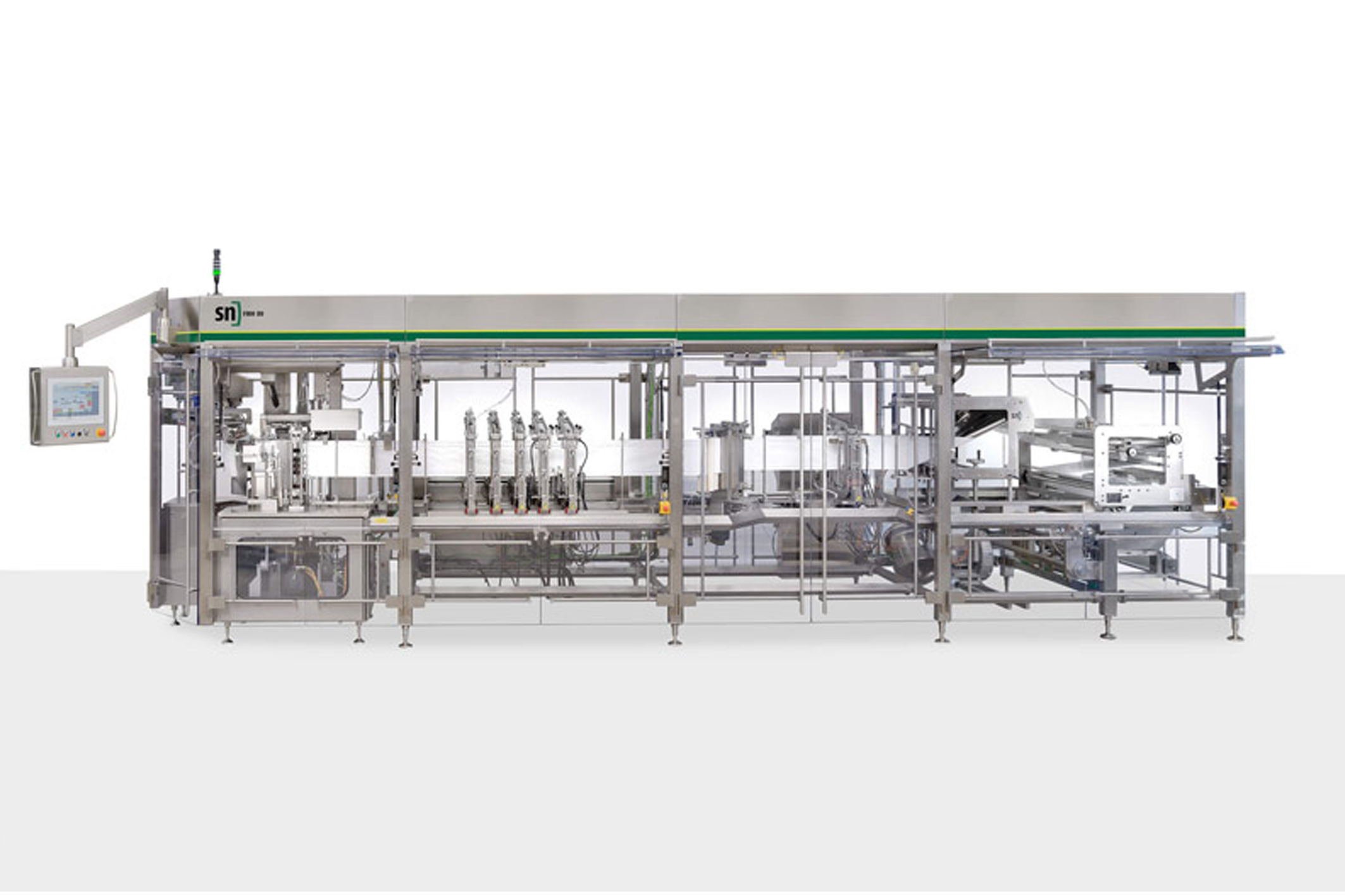 image of sn form fill & seal pouch machine