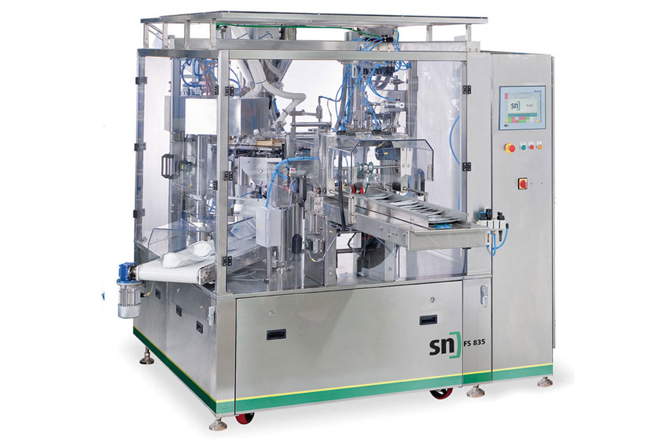 image of sn fill & seal pouch machine