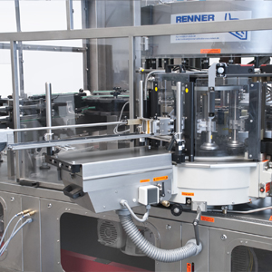renner wet adhesve labelling unit